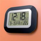 Reloj&Despertador,Impact,LCD,negro,2xAA incl.-23642