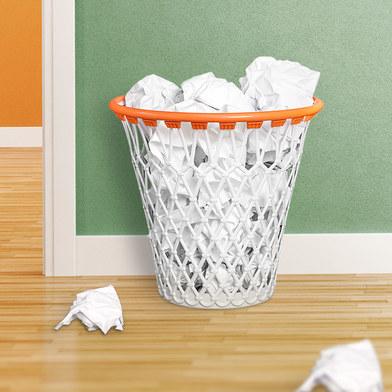 corbeille a papier balvi