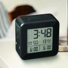 Despertador,Vision,negro,ABS,2xAA-26491