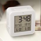Despertador,Vision,blanco,ABS,2xAA-26492