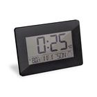 Reloj & despertador,Espace,negro,ABS,2xAA-26493