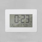 Reloj & Despertador,Espace,blanco,ABS,2xAA-26494