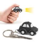 Llavero,Auto,consonido,negro,3xLR1130incl.-26547