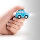 Llavero,Auto,consonido,azul,3xLR1130incl.-26548
