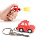 Llavero,Auto,consonido,rojo,3xLR1130incl.-26550