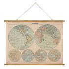 Pósterdecorativo,VintageMaps-Mapp,74x100cm-26622