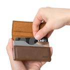 Mini-cartera,l'Hédoniste,marrón,polipiel-26652