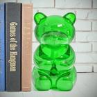 Sujetalibros,YummyBear,transparente,verde-26723