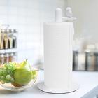 Soporte papel cocina,Birdie,blanco,metal-26665