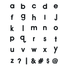 Letras magnéticas,Magnet Message,x120-26789