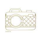 Porta foto,Memory Cam,x5,magnético,dorado-26865