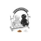 $Setsal & pimienta,Salt&Pepper,metal/cerám.-25006