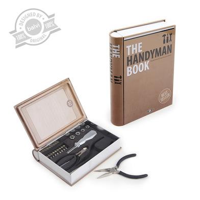 Tool Set The Handyman Book Tin Balvi