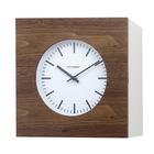 Relojpared&armario,Qubo,roble/blanco,1xAA-25979