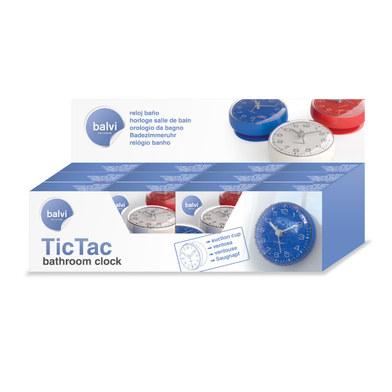 Horloge Salle Bain Tic Tac Ventouse Balvi