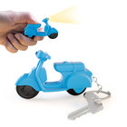 Llavero,Scooter,consonido,azul,3xAG10 incl.-26156