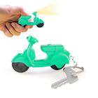 Llavero,Scooter,consonido,verde,3xAG10 incl.-26157
