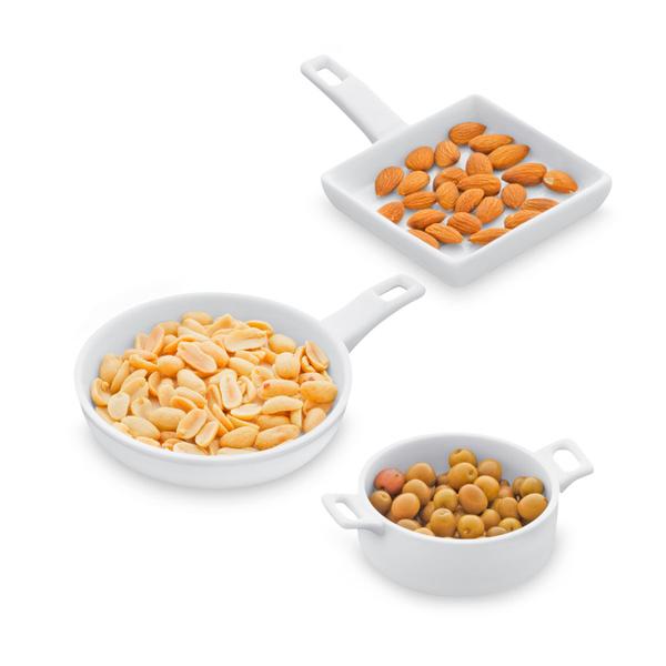 Balvi - Cuisine three-piece snack set, ceramic