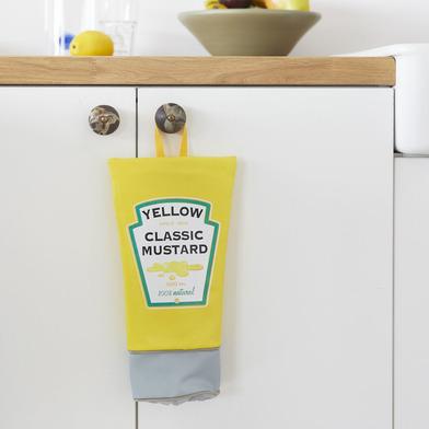 Balvi - Mustard dispensador de bolsas de plástico