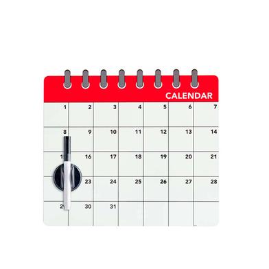 Balvi - Calendar pizarra magnética para puerta de nevera