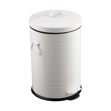 Balvi - Poubelle Retro 20 L blanc