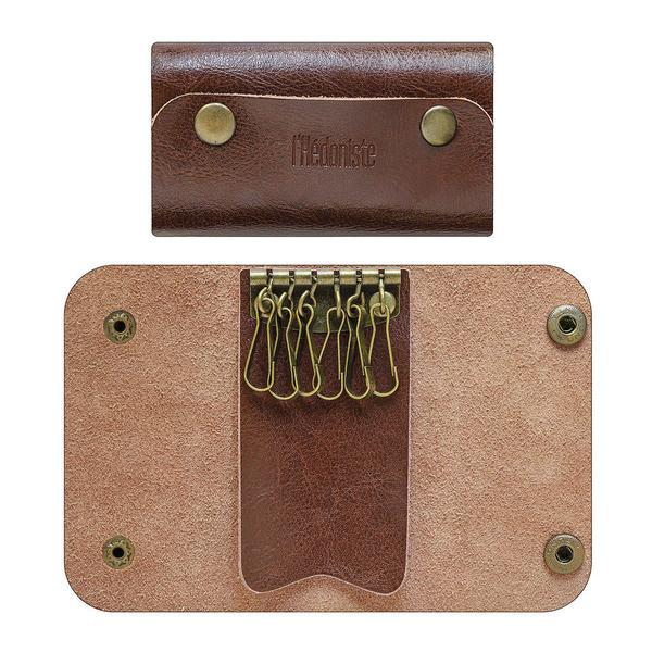 Balvi - Porte-clefs en cuir L'Hédoniste