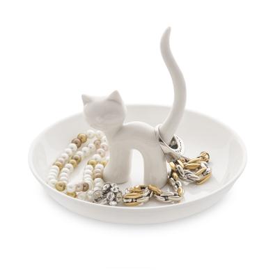 Balvi - Gatto XL porta anillos de cerámica
