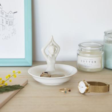 Balvi - Yoga porta anillos de cerámica