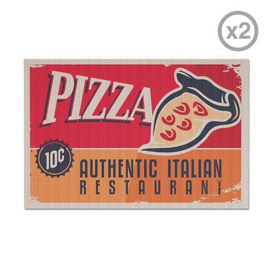 Balvi - Pizza set de 2 individuales