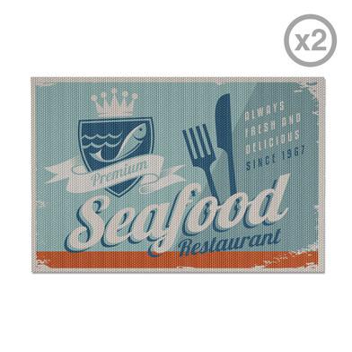 Balvi - Seafood set de 2 individuales