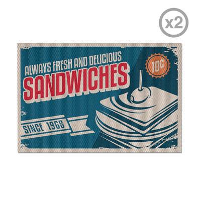 Balvi - Sandwiches set de 2 individuales