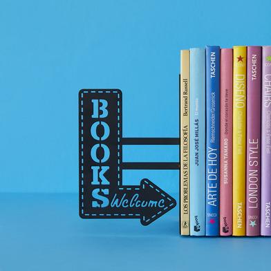Balvi - Bookshop sujeta libros de metal