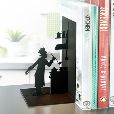 Balvi - Le Chef metal bookend