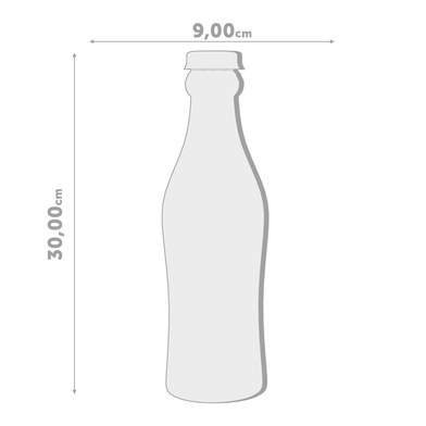 Balvi - Soda bottiglia in plastica PET