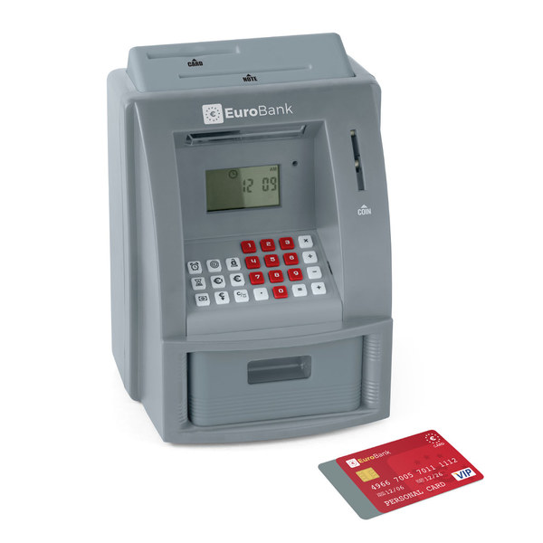 Balvi - Euro Bank hucha cajero automático electrónico
