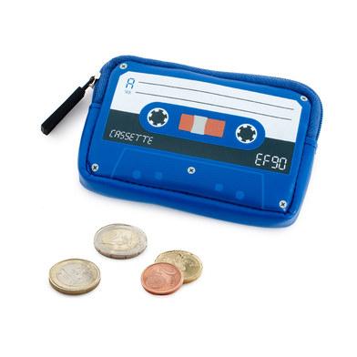 Monedero Cassette azul-26334