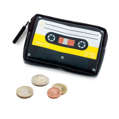 Monedero Cassette amarillo-26335
