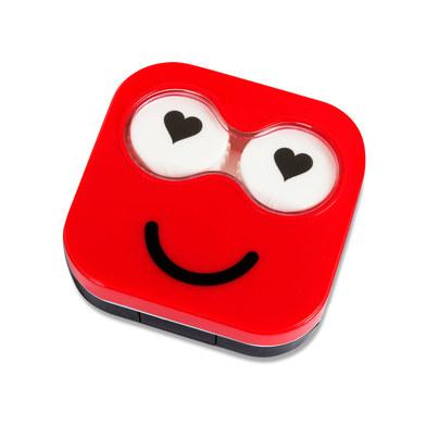 Estuchelentillas Emoji rojo-26345