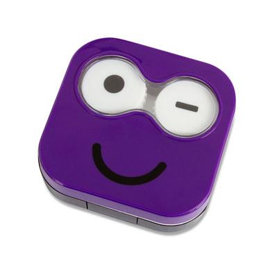 Estuchelentillas Emoji púrpura-26346
