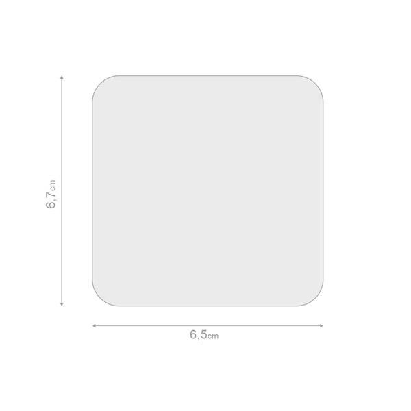 alvi Estuche lentillas Emoji Color púrpura Caja para lentillas, diseño divertido emoji verde portale