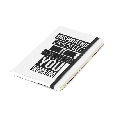 Balvi Inspiration Notebook White color notebooks with a positive message