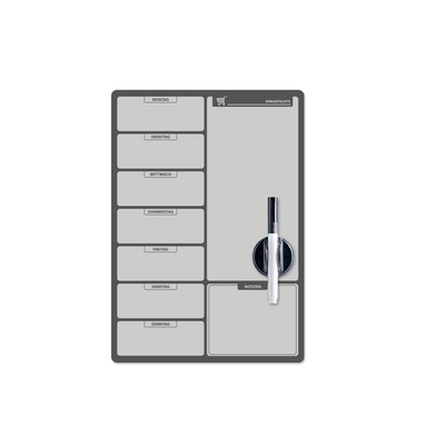 Balvi - Einkaufsliste pizarra magnética para puerta de nevera