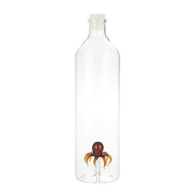 Balvi - Octopus botella de vidrio para agua
