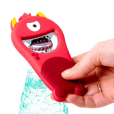 Balvi - Monster abrebotellas con forma de monstruo