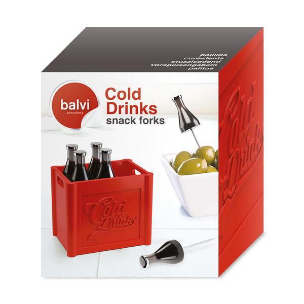Balvi - Cold Drinks set of 6 snack forks