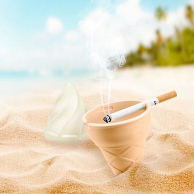 Balvi - Gelato cenicero para la playa