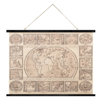 Balvi - Historia Navigationes póster decorativo vintage