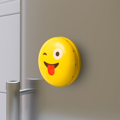 Balvi - Emoji minutero de cocina mecánico