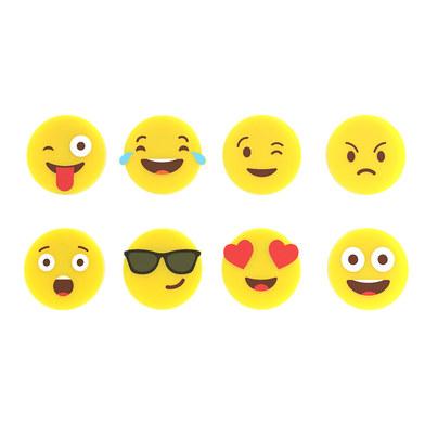 Balvi - Emoji set de marca copas de silicona