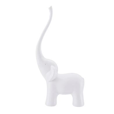 Balvi - Elephant porta anillos con forma de elefante blanco